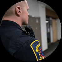 campus security using Motorola Solutions Two way radio
