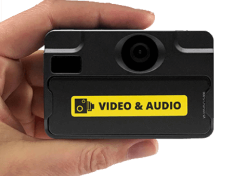 VT-100 Body Cameras can help to de-escalate or prevent confrontational situations at a Travel Station.